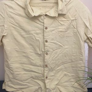 Jamaica Jazz Island shirt silk yellow large